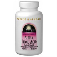 Source Naturals Alpha Lipoic Acid - 200 mg - 60 Tablets