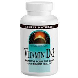 Source Naturals Vitamin D-3 - 400 IU - 100 Tablets