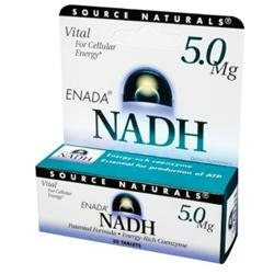 Source Naturals Nadh 5 MG - 30 Tablets - Other Supplements