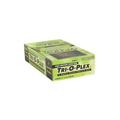 Chef Jay's Food Products Tri-O-Plex Bars - Caramel Apple