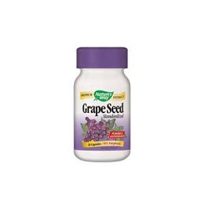 tures Way Grape Seed Standardized Extract by Nature's Way - 30 Capsules