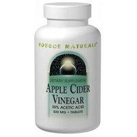 Source Naturals Apple Cider Vinegar - 500 mg - 90 Tablets