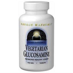 Source Naturals Vegetarian Glucosamine - 750 mg - 120 Tablets