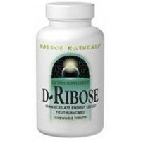 Source Naturals D-Ribose - 1000 mg - 60 Tablets