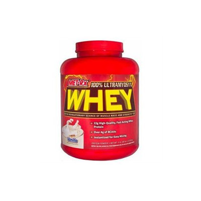 MET-Rx Ultramyosyn Whey Strawberry - 5 lbs