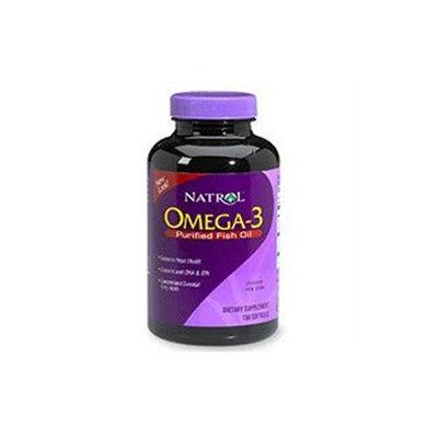Natrol Omega-3 Fish Oil Lemon - 1000 mg - 60 Softgels