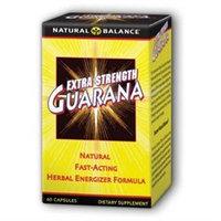 Guarana, Extra Strength, 60 Capsules, Natural Balance