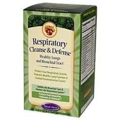 tures Secret Respiratory Cleanse & Defense, 60 Tablets, Nature's Secret