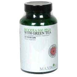 Maximum International Hoodia 500 With Green Tea, 120 Vcap