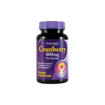 Natrol Cranberry Extract - 400 mg - 30 Capsules