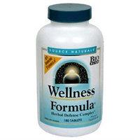 Source Naturals - Wellness Formula Herbal Defense Complex - 180 Tablets