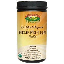 Manitba Harvest Manitoba Harvest Certified Organic Hemp Protein - Vanilla