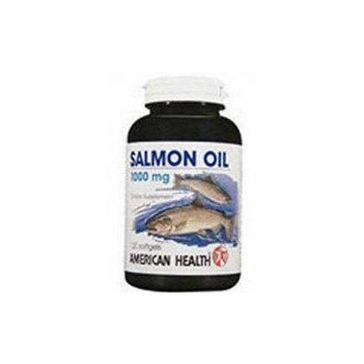 Frontier Natural Products Co-op 212512 American Health Specialty Supplement Salmon Oil 1,000 mg 120 softgels