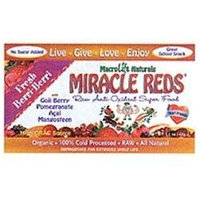 Macrolife Naturals, Miracle Reds, Raw Anti-oxidant Super Food Bars