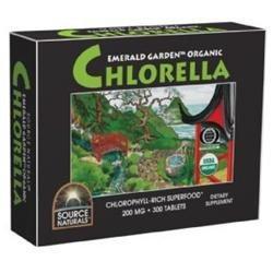 Source Naturals Emerald Garden Organic Chlorella (Box)