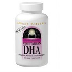 Source Naturals Vegetarian DHA With Neuromins - 200 mg - 60 Softgels