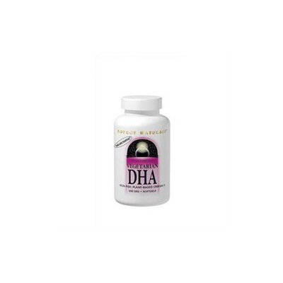 Source Naturals Vegetarian DHA with Neuromins - 200 mg - 120 Softgels