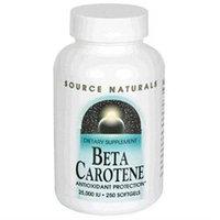 Source Naturals Beta Carotene - 25000 IU - 250 Softgels