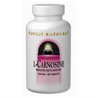 Source Naturals L-Carnosine - 500 mg - 30 Tablets