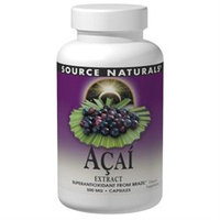 Source Naturals Acai Extract - 500 mg - 240 Vegetarian Capsules