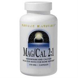 Source Naturals Mag Cal 2:1 - 370 mg - 90 Capsules