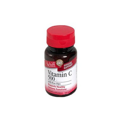 Frontier Schiff Vitamin C with Rose Hips - 500 mg - 100 Tablets