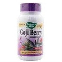tures Way Goji Berry Standardized by Nature's Way - 60 Vegetarian Capsules