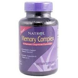 Natrol Memory Complex - 60 Tablets - Other Supplements