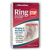 Ringstop Ear Drops 0.5 Oz by Natural Care