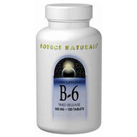 Source Naturals B-6 - 100 mg - 250 Tablets