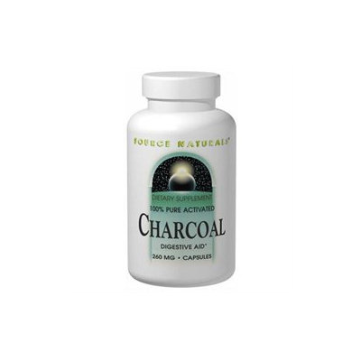 Source Naturals Charcoal 260 MG - 100 Capsules - Enzymes