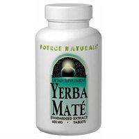 Source Naturals Yerba Mate - 600 mg - 90 Tablets