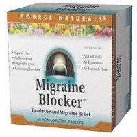 Source Naturals - Migraine Blocker Headache And Migraine Relief - 48 Tablets