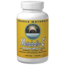 Source Naturals Metabolic-C 500 MG - 90 Tablets - Vitamin C Complex