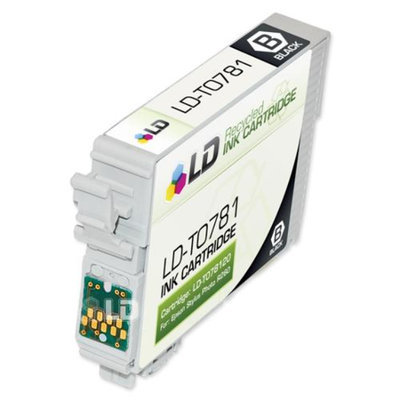 LD © Remanufactured Replacement for Epson T078 7-Set Ink Cartridges: 2 Black & 1 each of Cyan / Magenta / Yellow / Light Cyan / Light Magenta