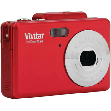 Vivitar VIVITAR VF124-RED 14.1 Megapixel iTwist Digital Camera VIVVF124RED