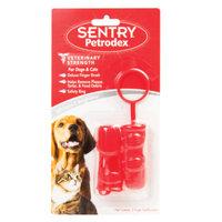 Sentry SENTRYA PetrodexA Veterinary Strength Deluxe Finger Pet Brush