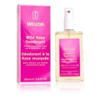 Weleda: Wild Rose Spray Deodorant, 3.4 oz