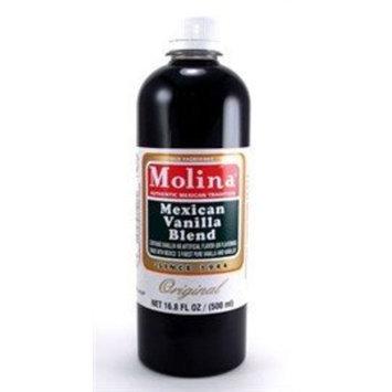 Molina Vanilla Mexican Vanilla Blend By Molina Vainilla, 16.8 Oz (Vanillin Extract)