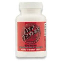 Ultra Glandulars 0439356 Raw Thyroid - 90 Tablets