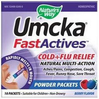 tures Way Nature's Way Umcka FastActives Cold + Flu Relief - Berry