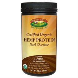 Manitba Harvest Manitoba Harvest Certified Organic Hemp Protein, Dark Chocolate, 16 oz