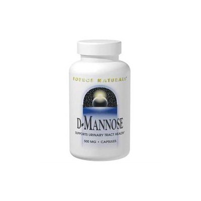 Source Naturals D-Mannose - 500 mg - 30 Capsules