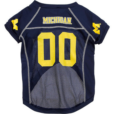 Hunter Michigan Wolverines College Pet Jersey, Medium