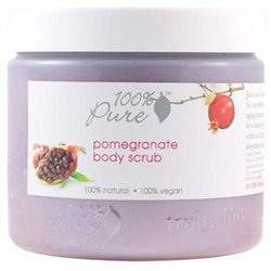 100% Pure Body Scrub Pomegranate