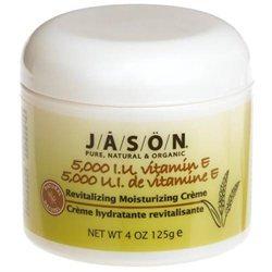 Jason Natural Products - Vitamin E Revitalizing/Moisturizing Creme 5000 IU - 4 oz.