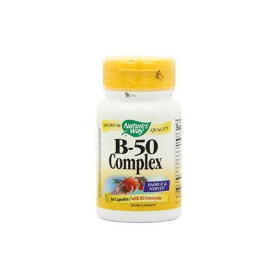 tures Way Vitamin B-50 Complex by Nature's Way - 60 Capsules