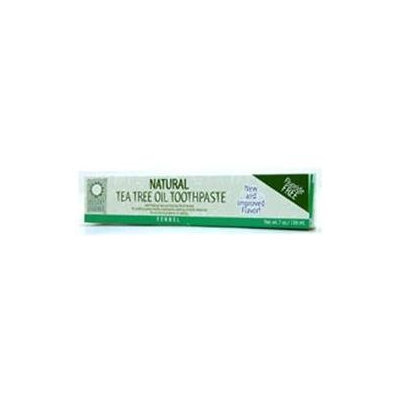 Desert Essence Natural Tea Tree Oil Toothpaste - Fennel