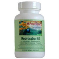 Frontier FoodScience of Vermont Resveratrol 50 - 120 Vegetarian Capsules