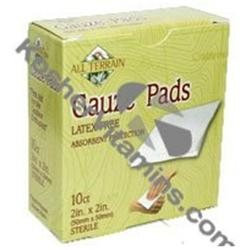 ALL TERRAIN, Gauze Pads 2x2 inch - 10 pc